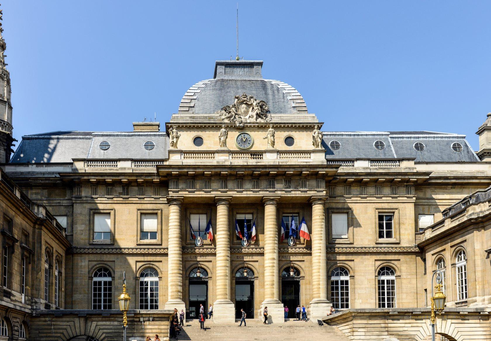 Palace of Justice, Palais de Justice, Paris, France